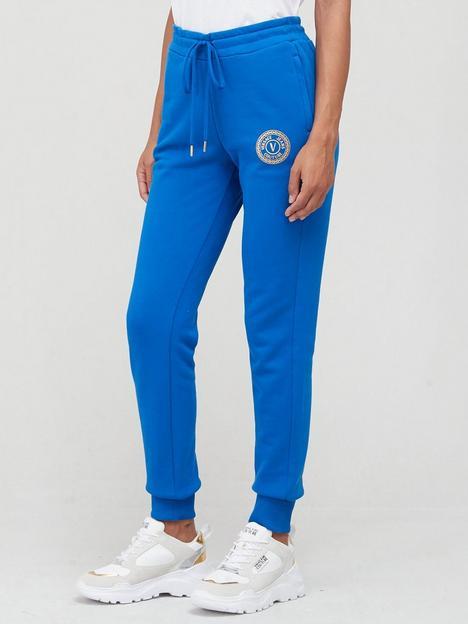 versace-jeans-couture-foil-logo-joggers-blue