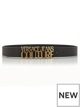 versace-jeans-couture-logo-buckle-belt-black
