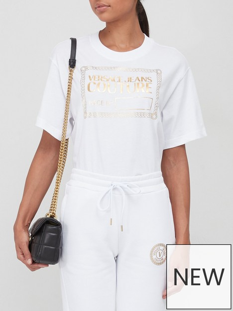versace-jeans-couture-foil-logo-t-shirt-white