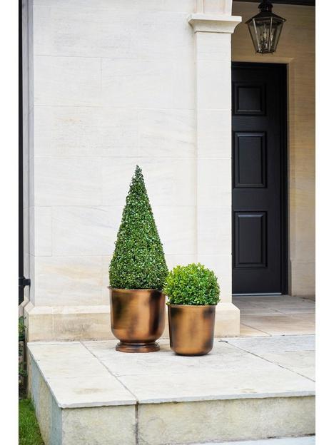 ivyline-outdoor-hampton-copper-metal-urn-h28cm