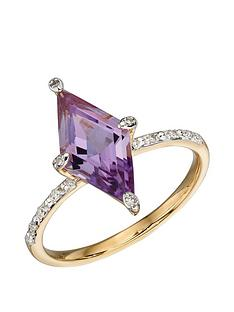 love-gold-9ct-yellow-gold-kite-shape-amethyst-and-diamond-ring
