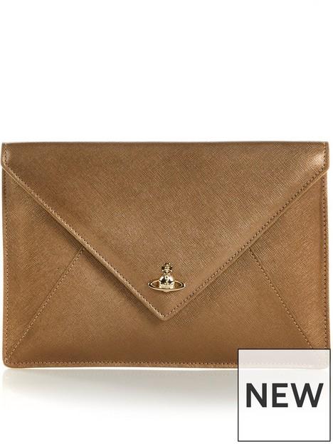 vivienne-westwood-victoria-envelope-clutch-bag-gold