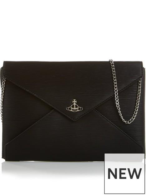 vivienne-westwood-polly-envelope-chain-strap-pouchnbspbagnbsp--black