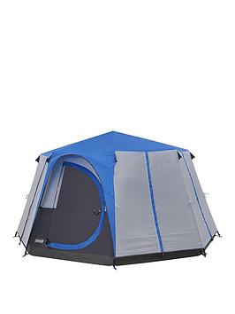 coleman-cortes-octagon-8-blue-glamping-tent