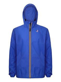 k-way-kids-claude-hooded-rain-jacket-royal-blue