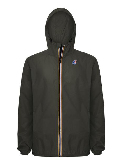 k-way-kids-claude-hooded-rain-jacket-black