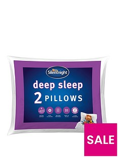 Silentnight Deep Sleep Pillows (Pair)
