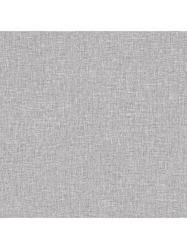 Arthouse Grey Linen Texture Peel & Stick Wallpaper