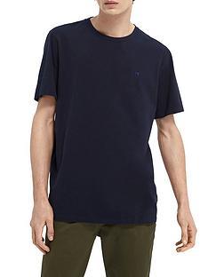 scotch-soda-scotch-soda-classic-cotton-elastane-t-shirt