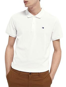 Scotch & Soda Classic Pique Polo Shirt