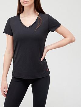 only-play-v-neck-short-sleeve-t-shirt-black