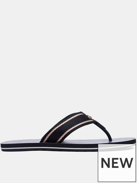 coach-zoe-webbed-flip-flops-black