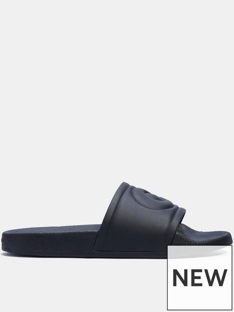 coach-ulla-rubber-sliders-black