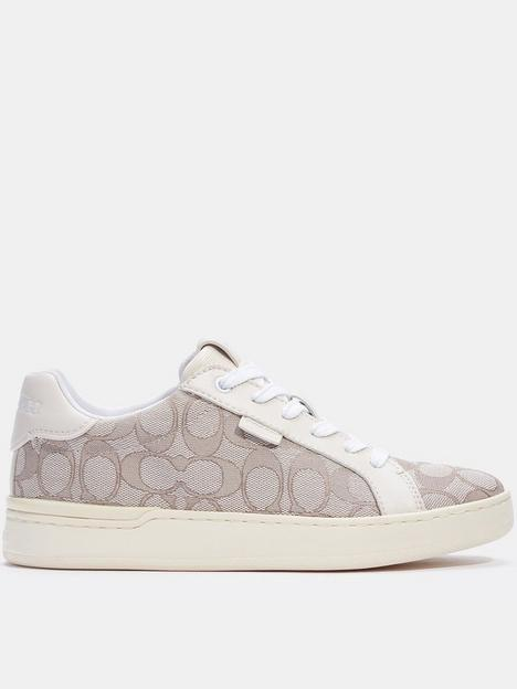 coach-lowline-jacquard-trainers-off-white