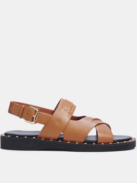 coach-gemma-leather-sandals-tan
