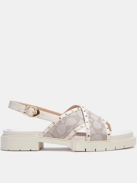 coach-palmer-jacquard-sandals-off-white