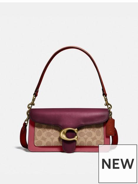 coach-tabby-26-coated-canvas-signature-colourblock-shoulder-bag-tan