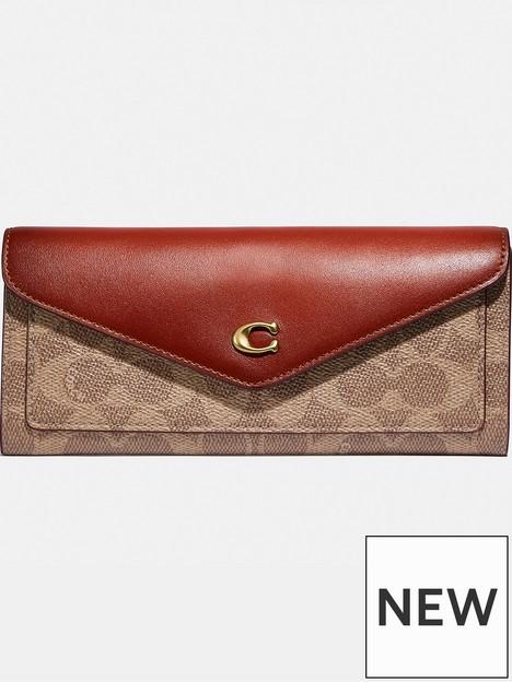 coach-wyn-signature-colorblock-coated-canvas-wallet-multi