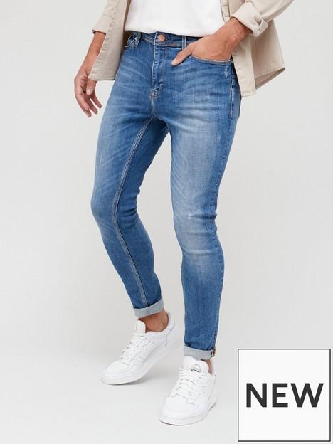 river-island-spray-on-jeans-mid-blue