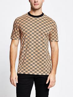 river-island-monogram-all-over-print-short-sleeve-t-shirt-stonenbsp
