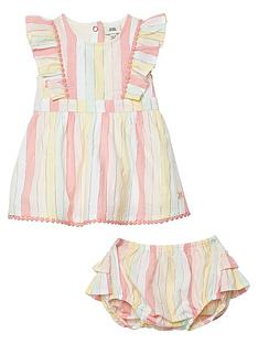 river-island-baby-baby-pink-stripe-dress-and-knicker-set
