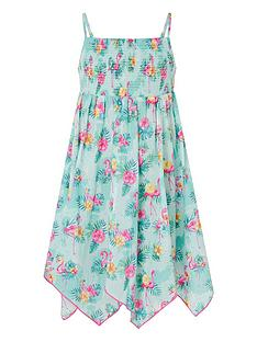 monsoon-girls-sew-flamingo-dress-aqua