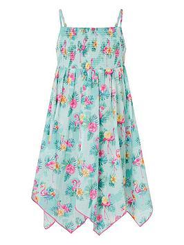 monsoon-girls-sew-flamingo-dress-aqua