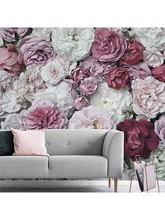 art-for-the-home-bouquet-blush-wall-mural