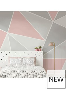 art-for-the-home-trinity-geo-blush-wall-mural