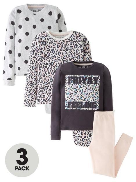 v-by-very-girls-3-pack-animalspot-long-sleeve-pjnbspset-pinkgrey