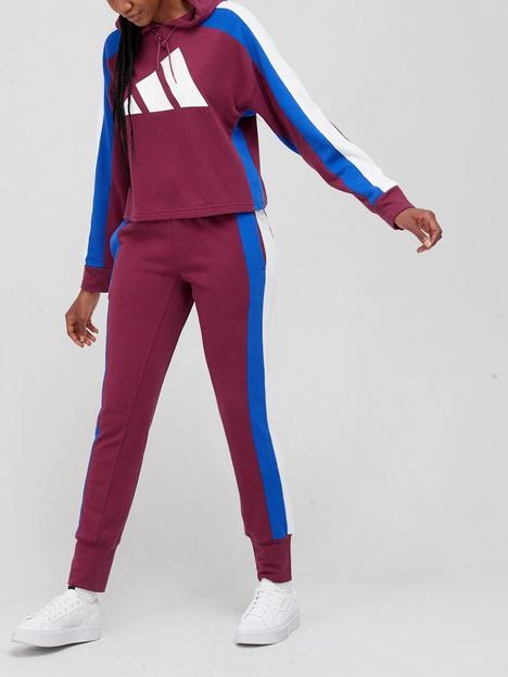 adidas-big-logo-tracksuit-redblue