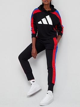 adidas-big-logo-tracksuit-blackred