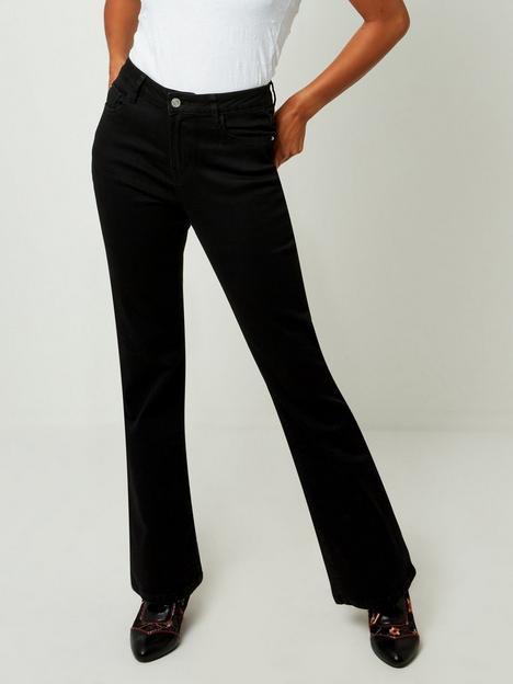 joe-browns-bootcut-jeans-black