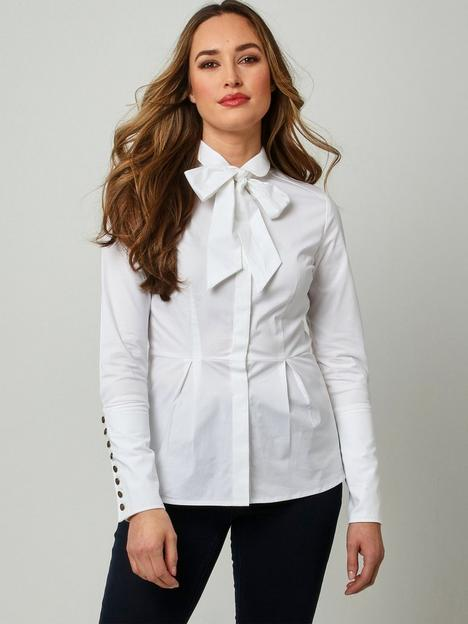 joe-browns-pussy-bow-blouse-white