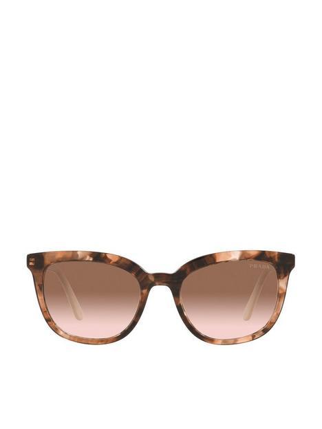 prada-round-sunglasses-brown