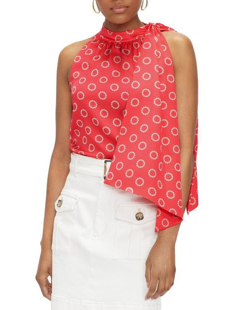 ted-baker-scarf-neck-sleeveless-top-pink