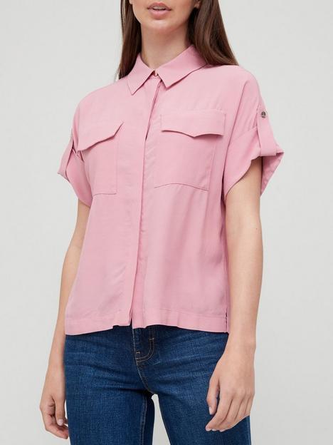 ted-baker-pocket-detail-shirt-pink