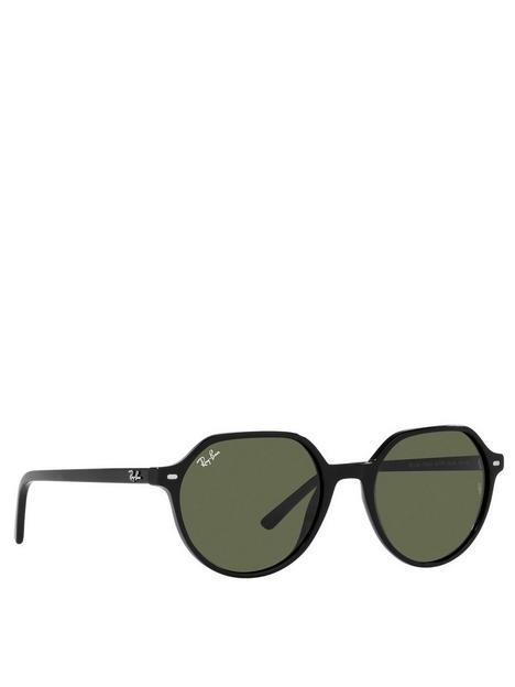 ray-ban-thalia-round-sunglasses-black