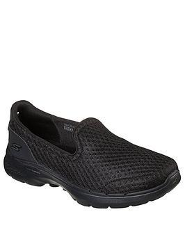 skechers-go-walk-6-athletic-mesh-slip-on-plimsolls