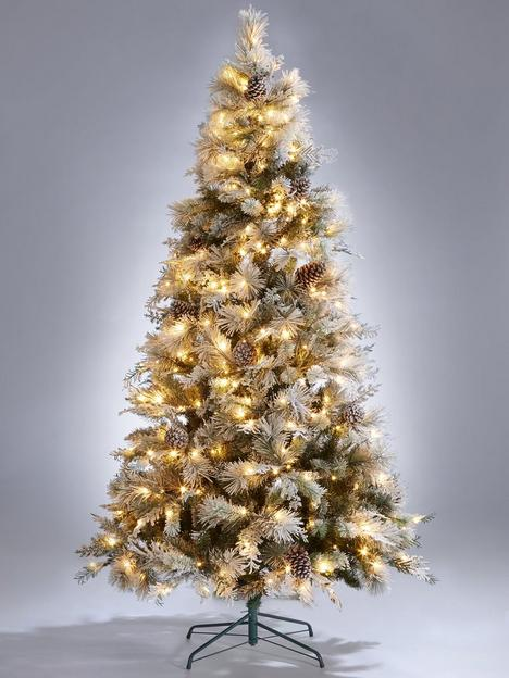 7ft-denver-flocked-pre-lit-christmas-tree-with-pinecones