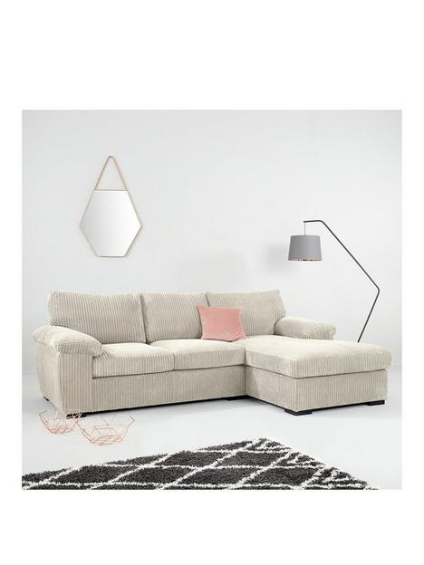 amalfi-standard-3-seater-fabric-right-hand-chaise-sofa-silver