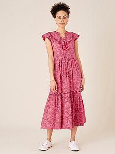 monsoon-monsoon-mona-non-print-tiered-jersey-midi-dress