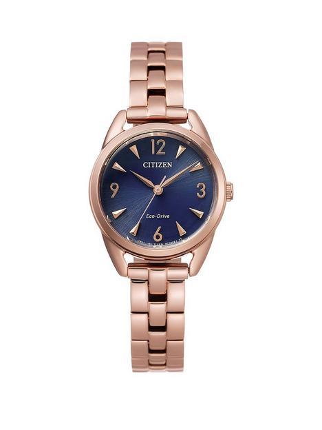 citizen-citizen-silhouette-blue-dial-rose-tone-bracelet-ladies-watch
