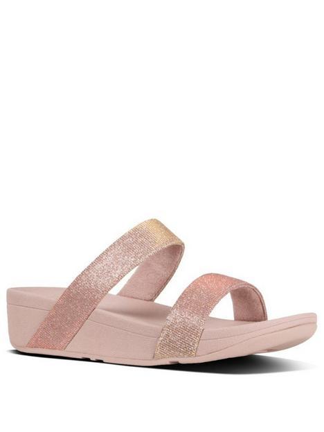 fitflop-lottie-slide-wedge-sandalsnbsp--rose-gold