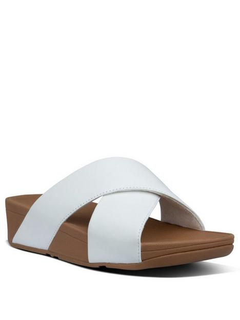 fitflop-lulu-cross-slide-wedge-sandalsnbsp--white
