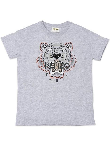 kenzo-boy-tiger-logo-t-shirt-grey-marl