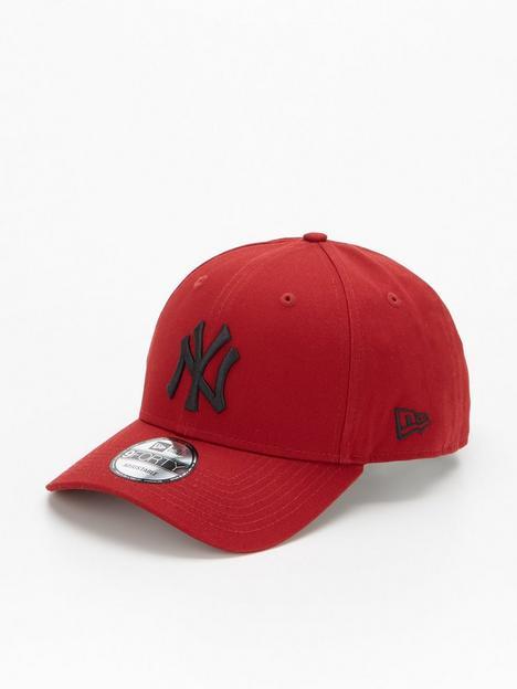 new-era-9forty-ny-yankees-cap-redblack