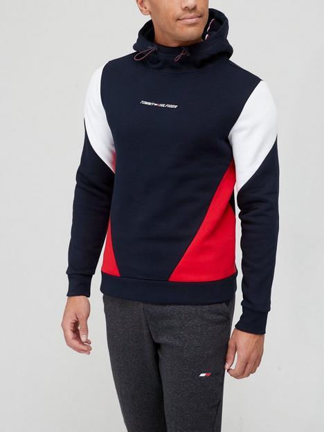 tommy-sport-blocked-seasonal-hoodie-navyredwhite