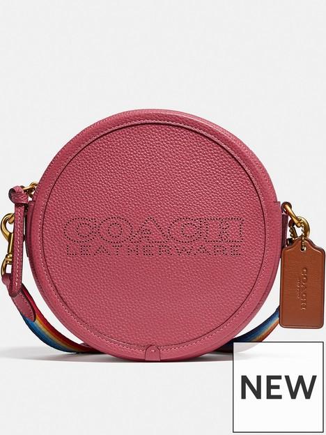 coach-pennnbspleathernbspcircle-bag-pink