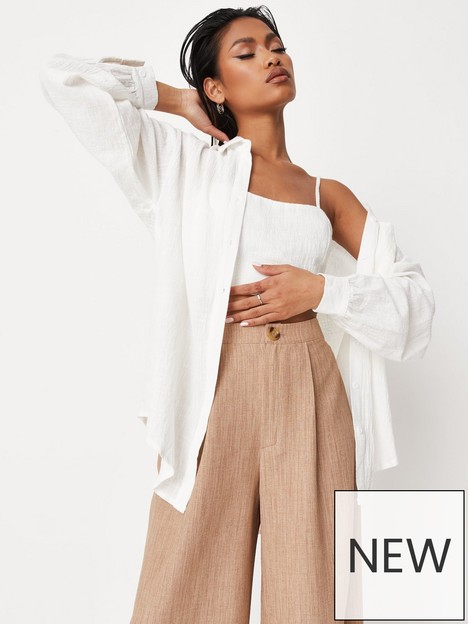 missguided-missguided-nbsplong-sleeve-linen-look-oversized-shirt-white